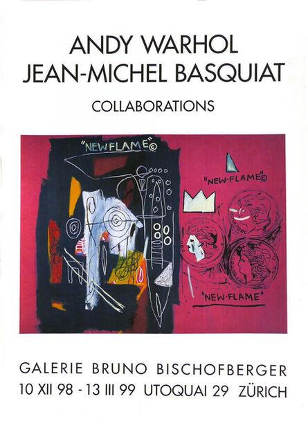 Jean-Michel Basquiat, 'Warhol Basquiat collaborations poster ', 1999