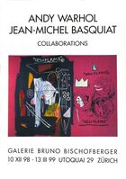 Jean-Michel Basquiat, 'Warhol Basquiat collaborations poster ', 1999