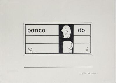 Almandrade, 'Untitled - Visual Poem', 1976