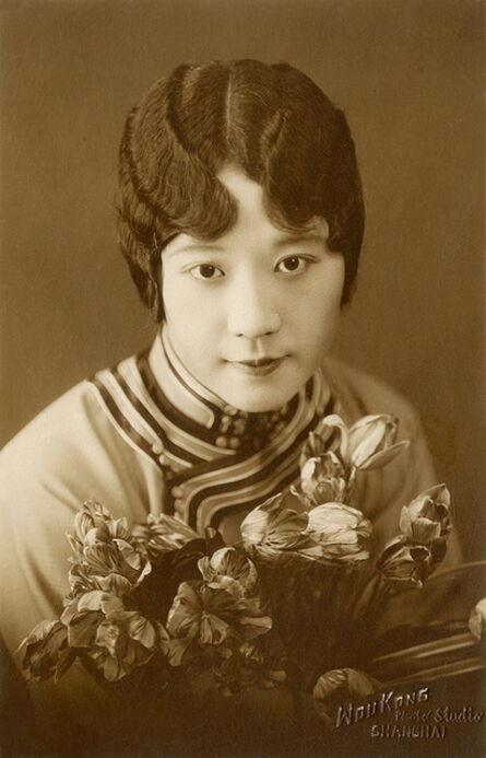 Unknown Artist, 'WouKong photo studio, Portrait of Violet Kwan', ca. 1930