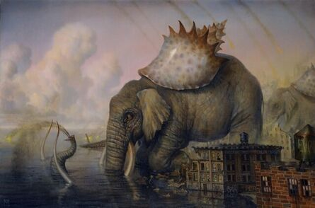 Martin Wittfooth, 'A Day Without Rain', 2008