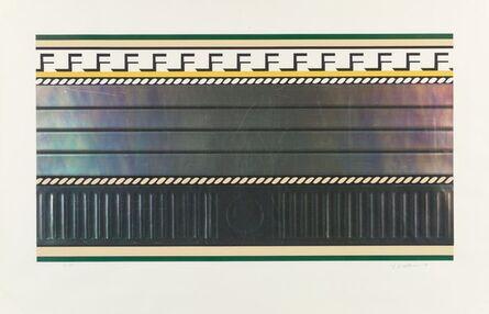 Roy Lichtenstein, 'Entablature III from Entablature', 1976