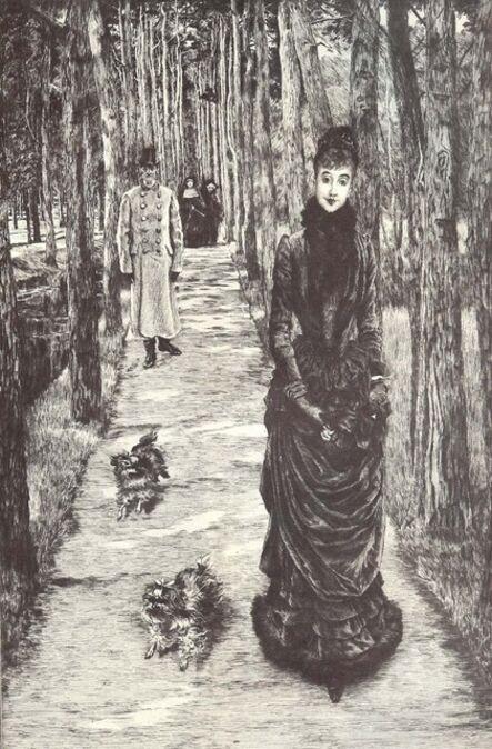James Jacques-Joseph Tissot, 'La Mystérieuse', 1885