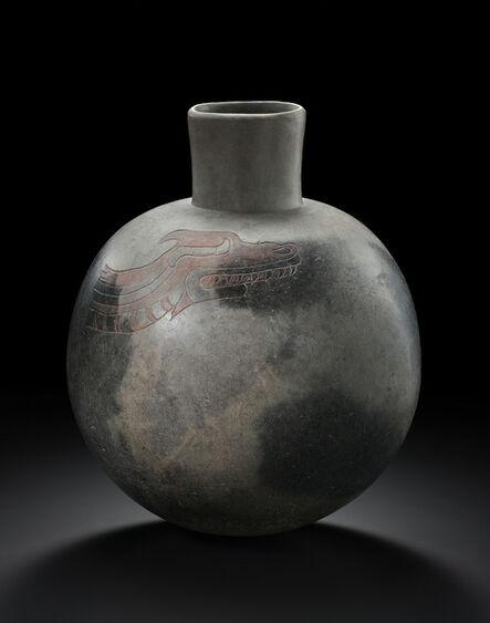'Vessel decorated with an engraved dragon, Olmec--Las Bocas--Puebla--Mexico', 900-600 B.C.