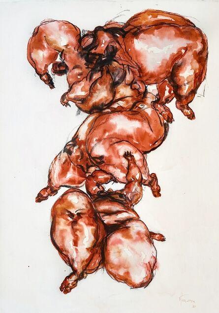 Uthman Wahaab, 'Distorted balance VII', 2021