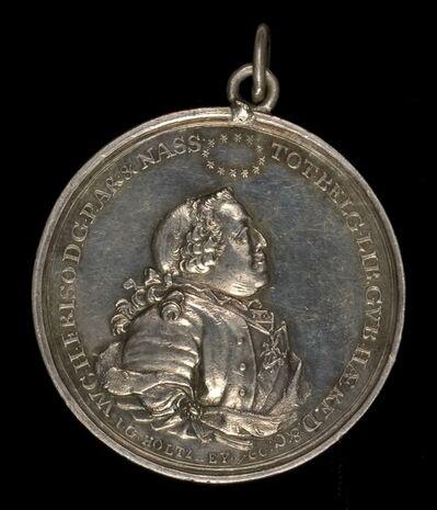 Johann Georg Holtzhey, 'William IV Charles Henry Friso, 1711-1751, Stadholder of United Netherlands [obverse]', 1751