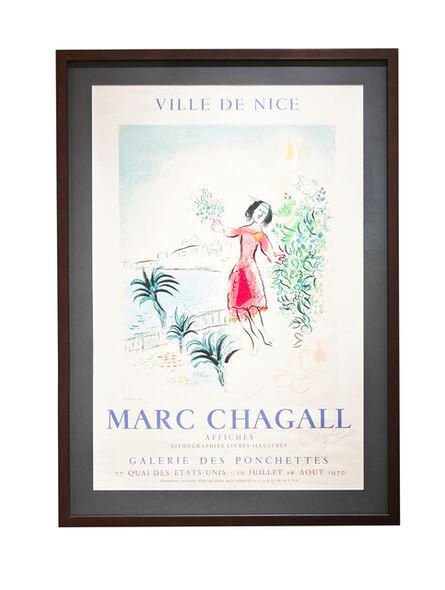 Marc Chagall, 'Ville de Nice', 1970