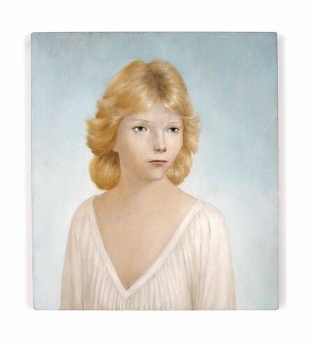 John Currin, 'Becky Baer'