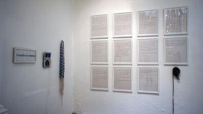 Tania Candiani, 'Instrucciones para bordar en telar de cintura', 2011