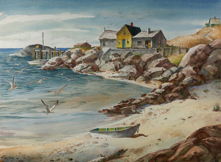 Henry Gasser, 'Sand, Sea, and Rocks', ca. 1950s-1960s