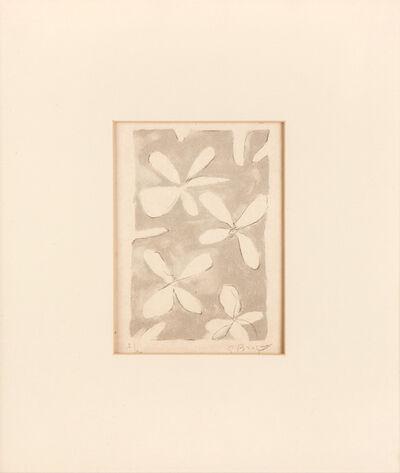 Georges Braque, 'Le tir à l'arc', 1960