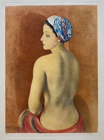 Moise Kisling, 'Nu au Turban (Nude in Turban)', 1952