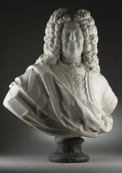 Giovacchino Fortini, 'Bust of a Nobleman in Armour ', ca. 1700