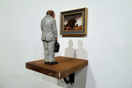 Isaac Cordal, 'Remembrances From Nature', 2013