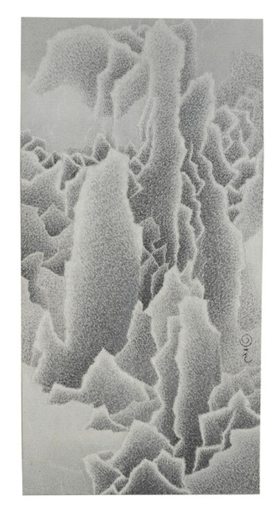 Qiu Deshu 仇德树, 'A lot of snow looks very clean and cold 積血清寒圖', 2005