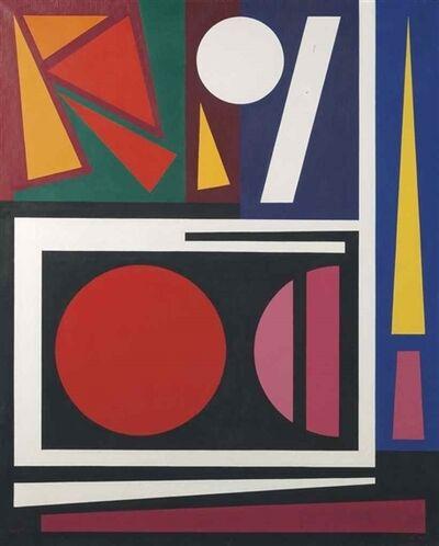 Auguste Herbin, 'Nid', 1955