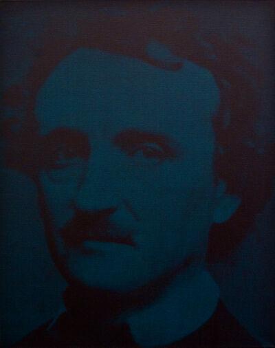 Gottfried Helnwein, 'Fire - Edgar Allan Poe', 1996
