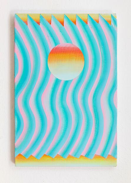 Bruno Novelli (a.k.a. Bruno 9li), 'Sol e Onda', 2021