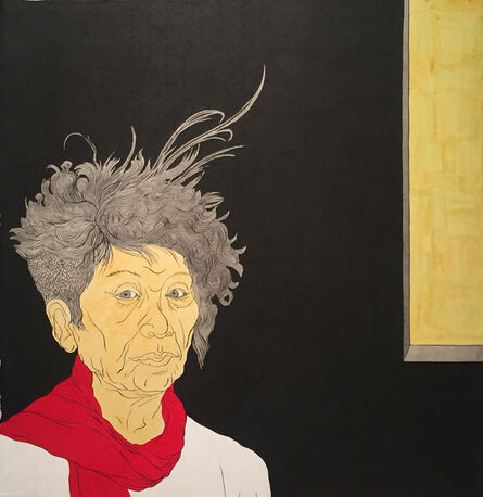 Suknam Yun, 'Self-Portrait', 2018