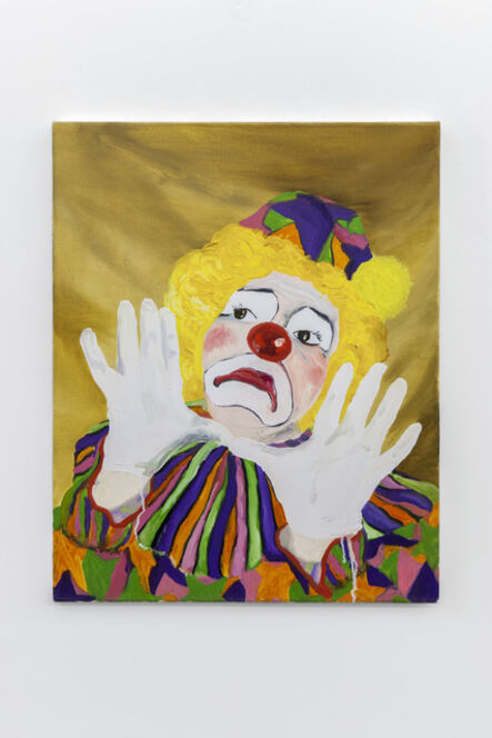 Morgan Mandalay, 'Self portrait as a clown 1', 2015