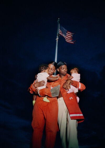 Tyler Mitchell, 'All American Family Portrait', 2018