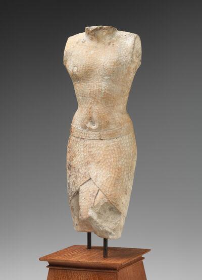 'Sculptor's model of a striding king', 305-250 BCE