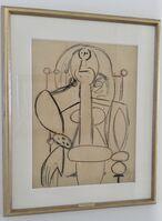 Pablo Picasso, 'Woman in an Armchair (Portrait of Françoise Gilot)', 1947
