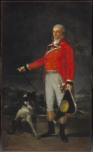 Francisco de Goya, 'Portrait of Don Tadeo Bravo de Rivero,', 1806