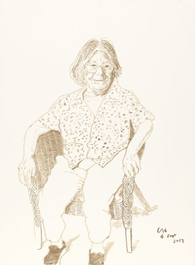David Hockney, 'Margaret Hockney, 4th Sept 2019', 2019
