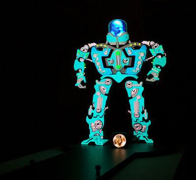 Peter Sarkisian, 'VideoMorphic Figure (Robot 4 v 1)', 2013