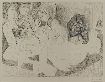 Pablo Picasso, 'Eau-forte 4 avril 1971', 1971
