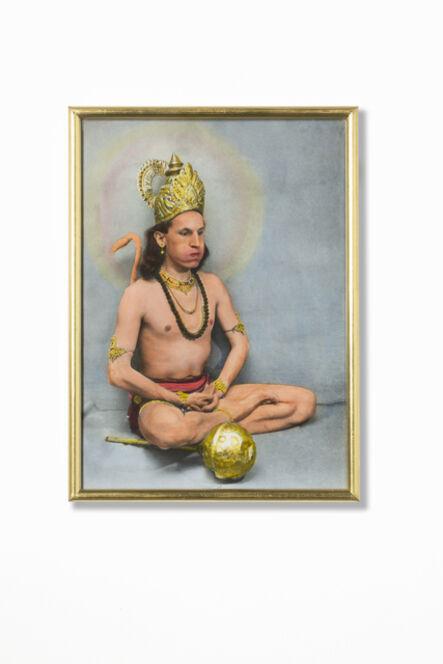 Luigi Ontani, 'HanuMan (Jaipur)', 1976