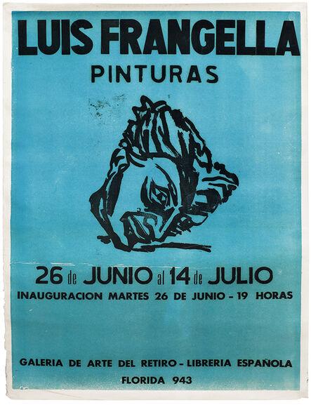 Luis Frangella, 'Luis Frangella, Pinturas, Galería del Retiro', 1984