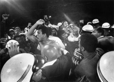 William Klein, 'Ali Victory, Kinshasa, DRC', 1974