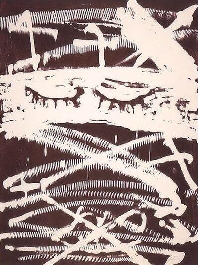 Antoni Tàpies, 'Against torture (Gegen die Folter)'