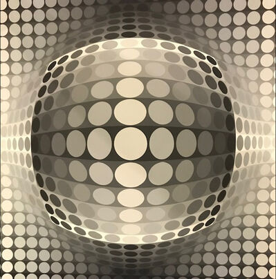Victor Vasarely, 'Bach Tribute Series', ca. 1960