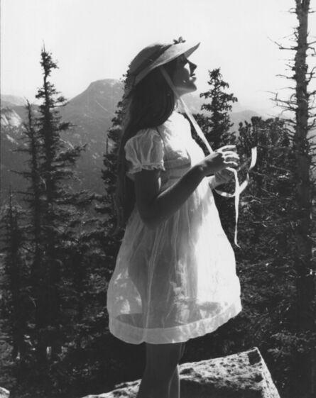 Francesca Woodman, 'Untitled (Francesca in High School, with Bonnet)', 1972-1975