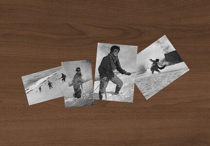"""Iñaki Bonillas, '4 fotos, 1 cuerda [""""4 photos, 1 rope""""]', 2020"""
