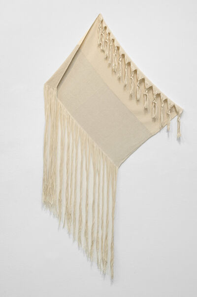 Frances Trombly, 'Linen with Canvas', 2013