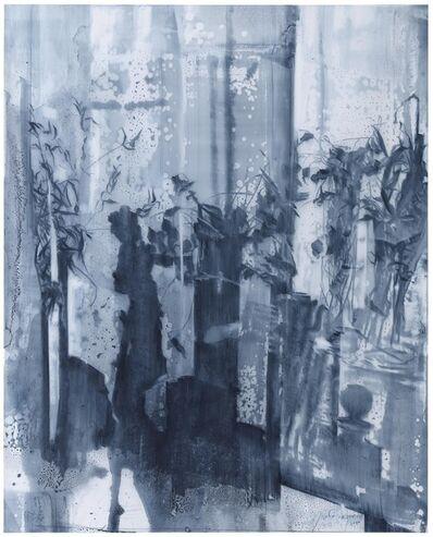 Julio Vaquero, 'Dibujo tras el velo (29378)', 2020