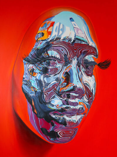 Kip Omolade, 'Red Stare', 2020