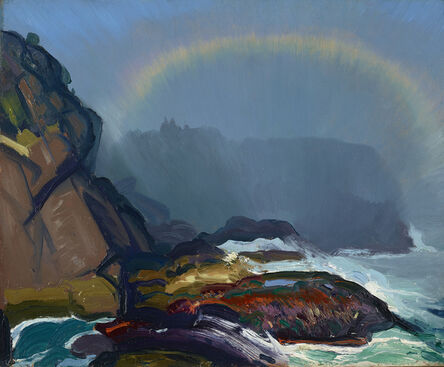 George Bellows, 'Fog Rainbow', 1913
