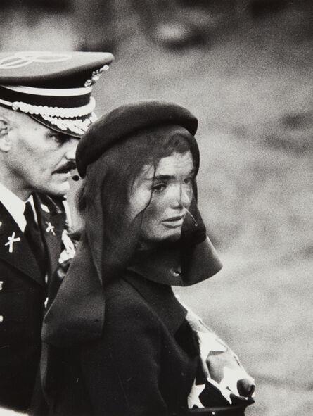 Elliott Erwitt, 'Jacqueline Kennedy, Arlington, Virginia', 1963