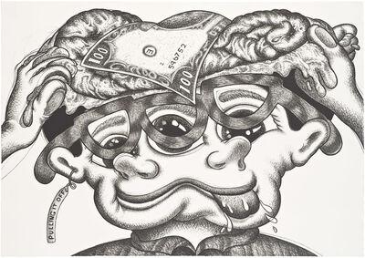 Peter Saul, 'Pulling it Off', 1987