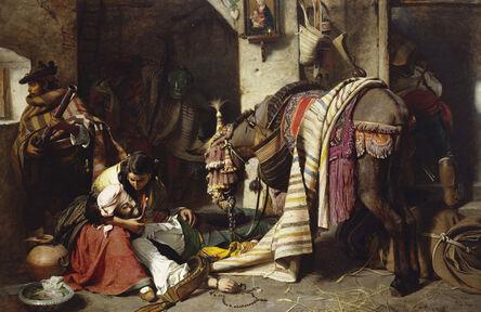 John Phillip, 'The Dying Contrabandista', 1858