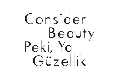 Studio Frith & Thirteen Ways, 'Consider beauty'