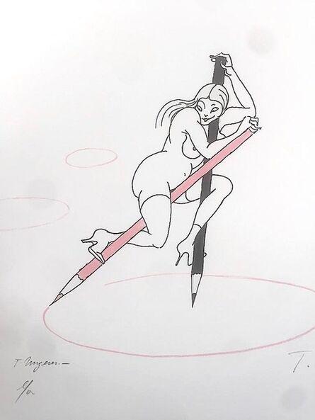 Tomi Ungerer, 'Le compas', 2000
