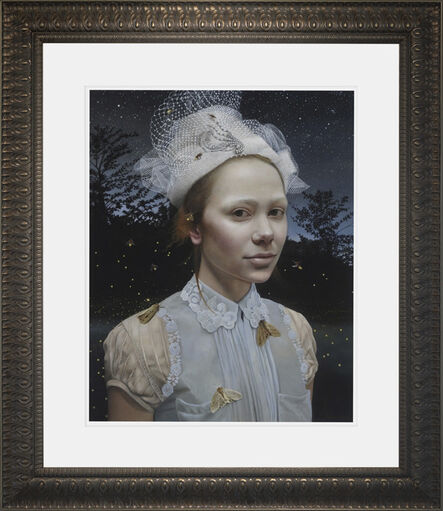 Andrea Kowch, 'Nocturne - 1st Limited Edition Framed Hand Signed Print', 2019