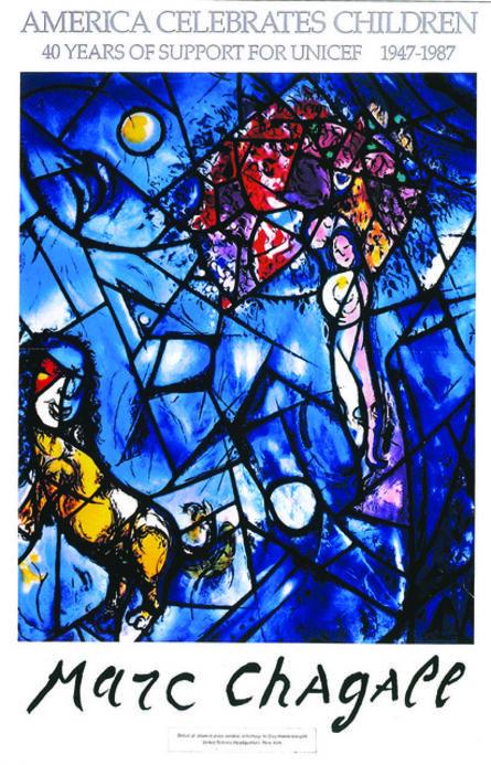 Marc Chagall, 'America Celebrates Children', 1987