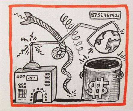 Keith Haring, 'Against All Odds, 20 Drawings', 1990